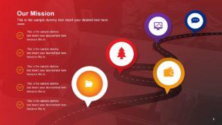 Business Timeline Roadmap Template