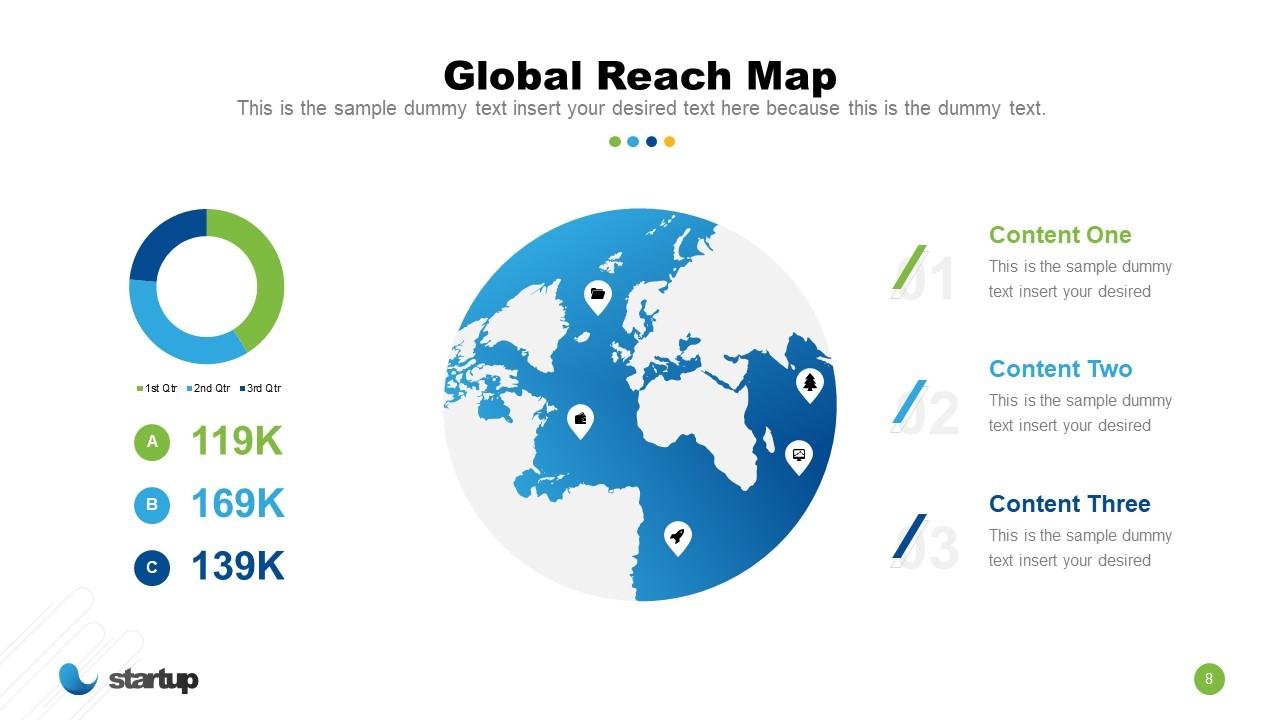 Globe Slide for Startup Market