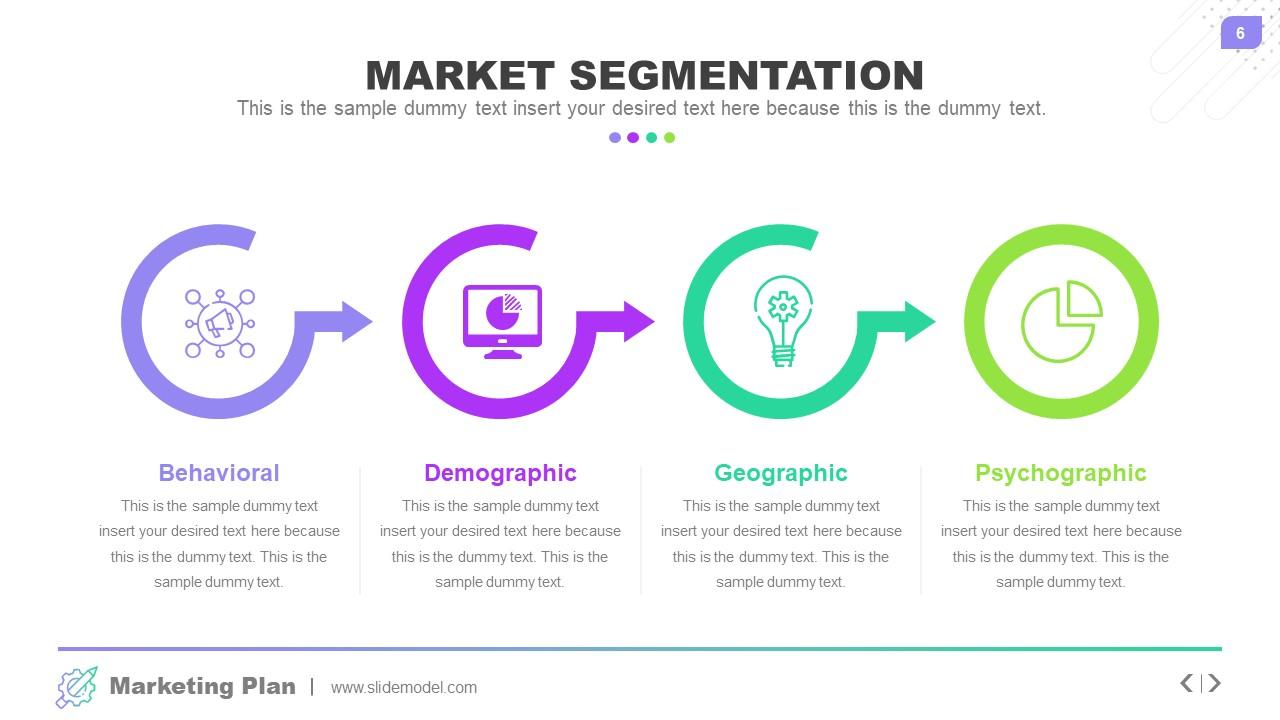 Business Presentation of Market Diagrams