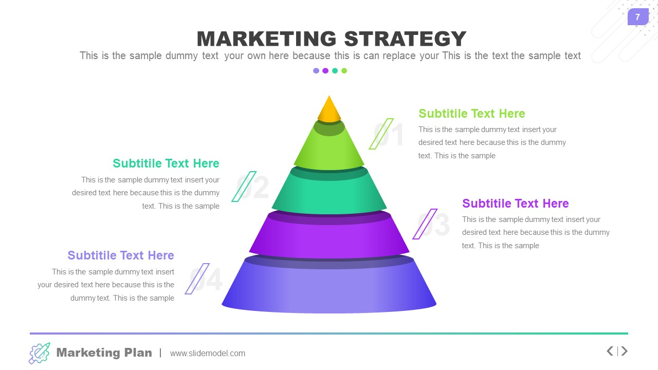 Pyramid of Marketing Strategy