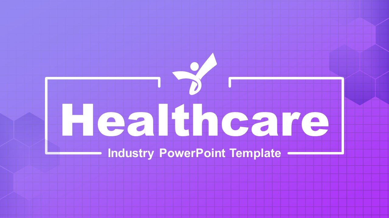 Cover Slide for Healthcare Industry