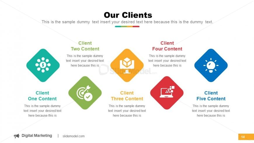 5 Client Segments for Information