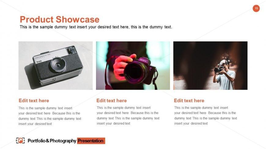 Portfolio & Photography Template Design