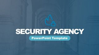Pitch Deck Template for Security Agency