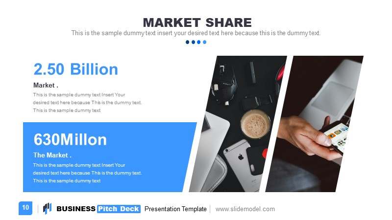 PowerPoint Market Share Template