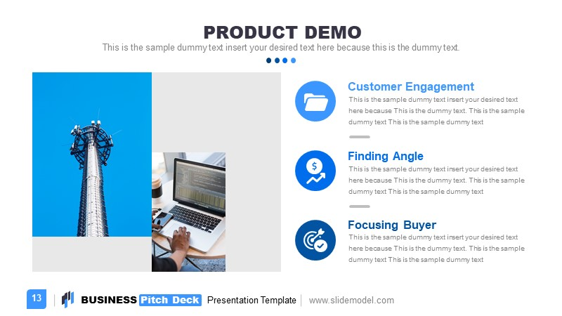 Presentation of Product Demo Template