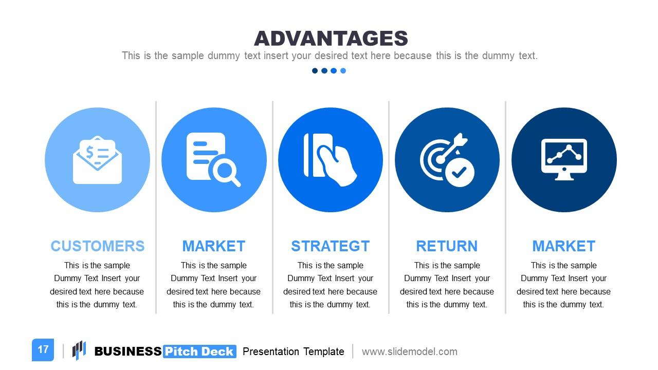 Slide Deck for Business Advantages