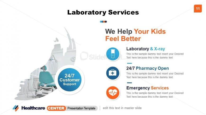 PowerPoint Healthcare Center Laboratory Service