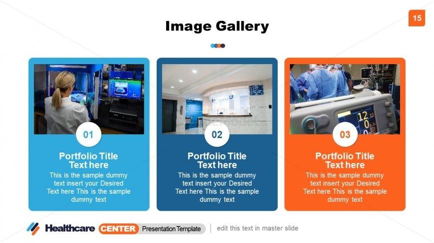 Image Portfolio Healthcare Center PPT