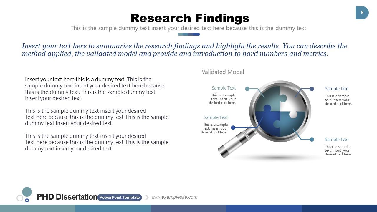 Research Concept Puzzle Diagram