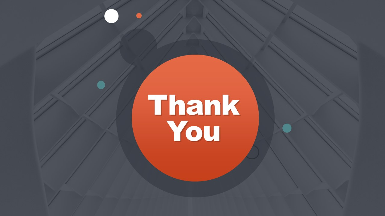 Last Slide of Thank You Note