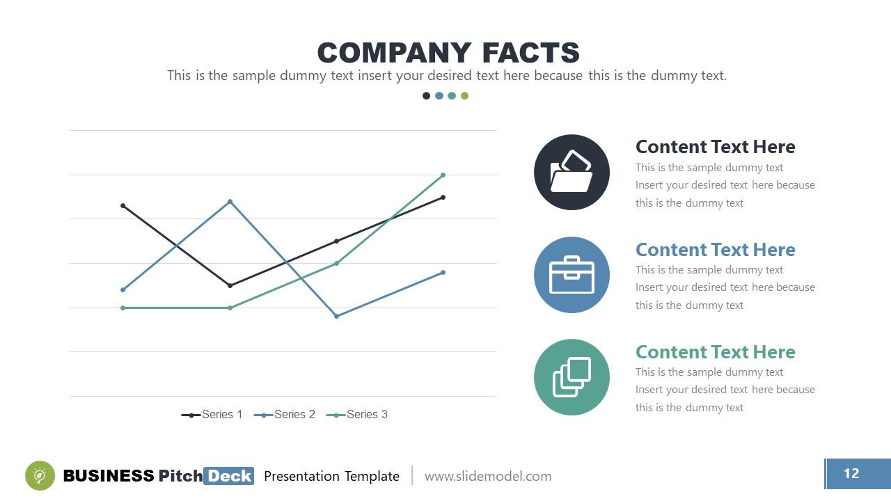 Data Driven Trend Chart Template