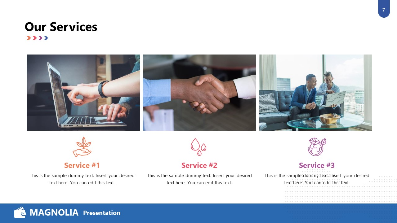 Business Services PowerPoint Template
