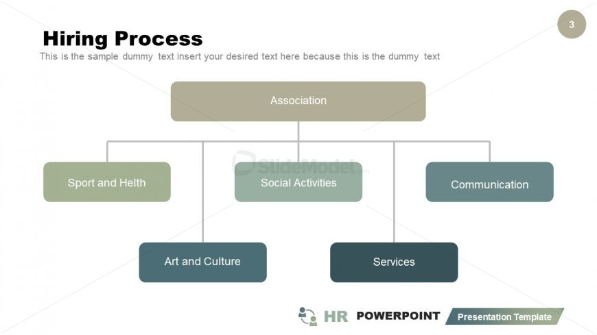 HR Hiring Model PowerPoint