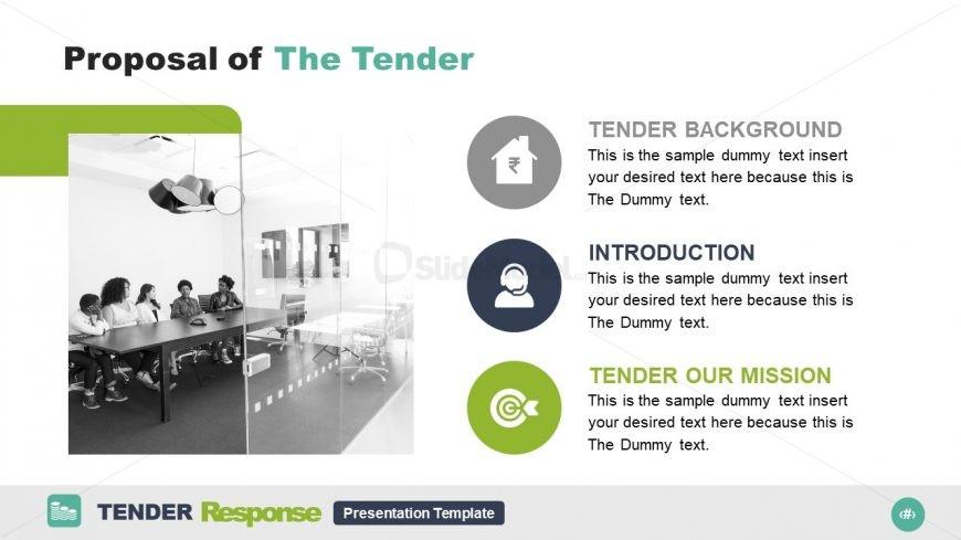 Slide Deck for Tender Response