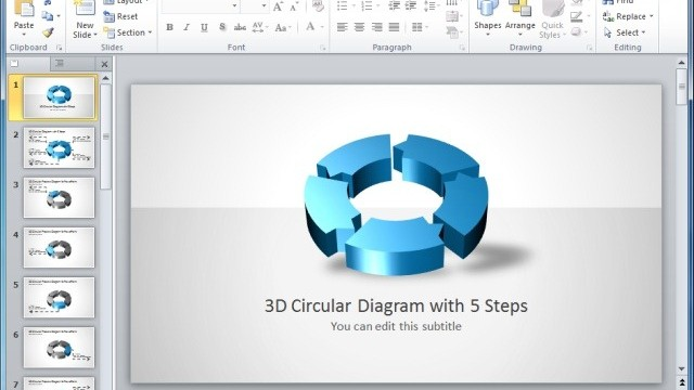 Awesome Circular Process Diagrams For PowerPoint Presentations