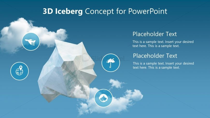 PPT Templates for Free 3D Object