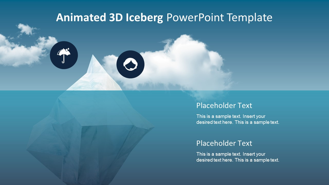 Animated 3D Template Clipart