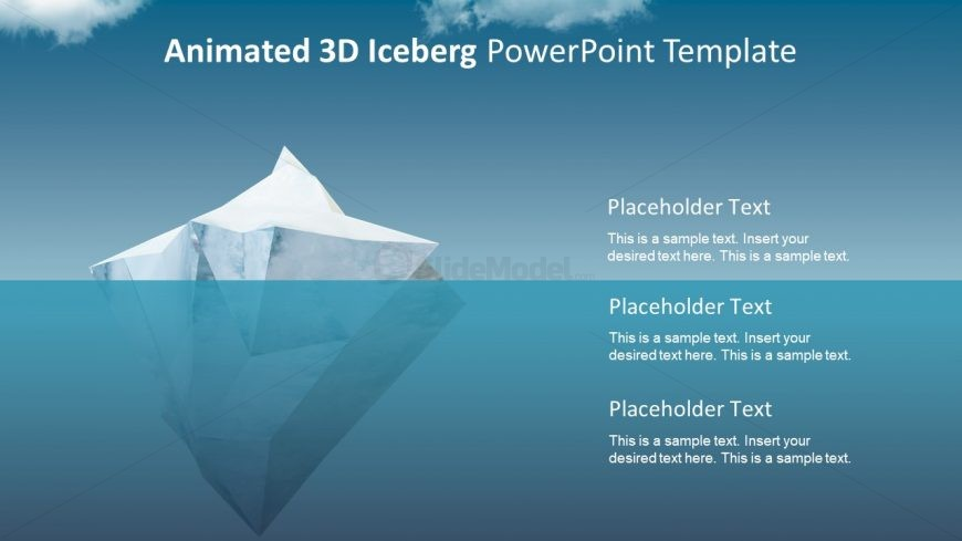 Template for Iceberg Model