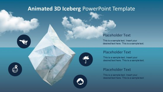 Creative Iceberg Animated PowerPoint