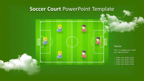 3D Animated Presentation of Soccer