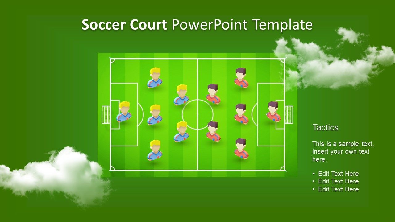 ppt soccer player animated 3d