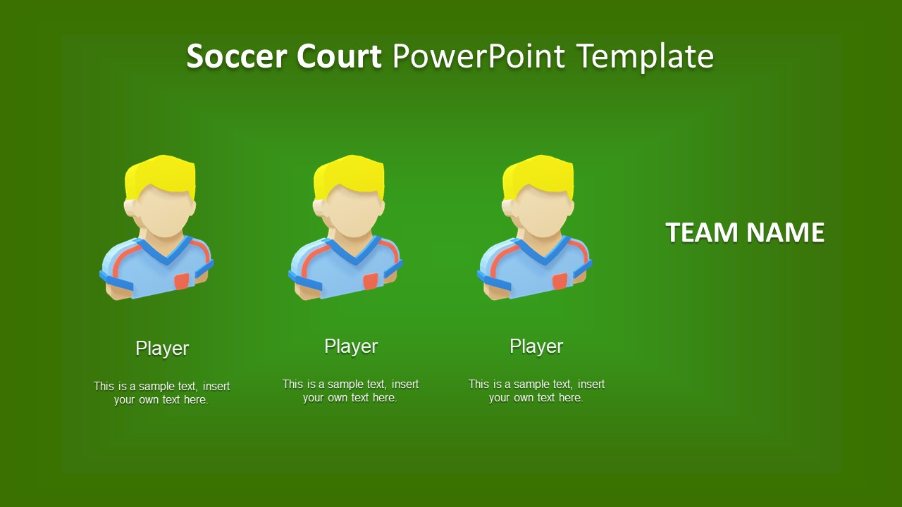 Captain and Team Soccer PPT