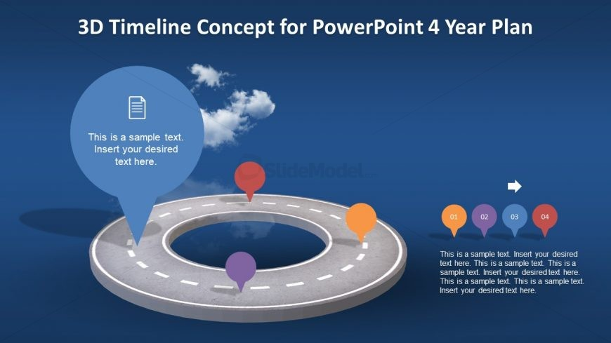 Milestone Timeline Concept Template