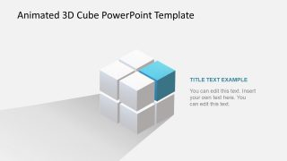 Animated 3D Color Cube