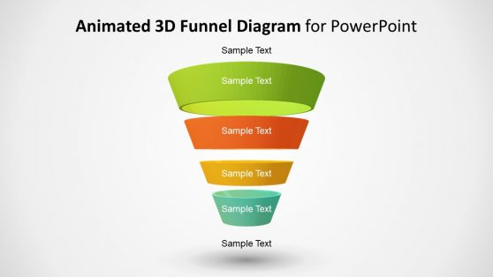 Funnel Shape PowerPoint Diagram