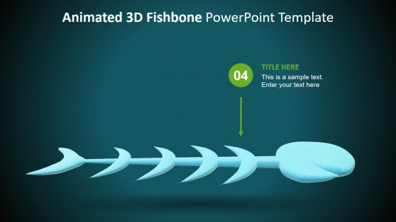 3D Presentation Template of Fishbone