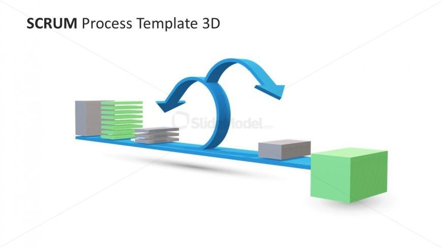 Scrum Framework Diagram Template