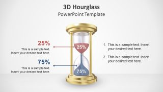 3D Template of Hourglass Slide