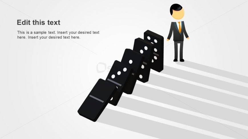 Domino Template Creative 3D Design