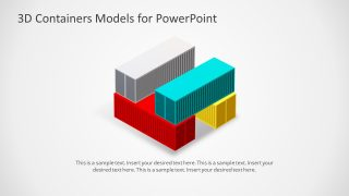 Animated 3D Container Models for PowerPoint