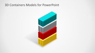 PPT 4 Containers 3D Models