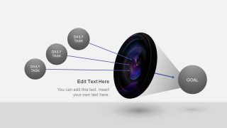 3D PowerPoint Animated Diagram