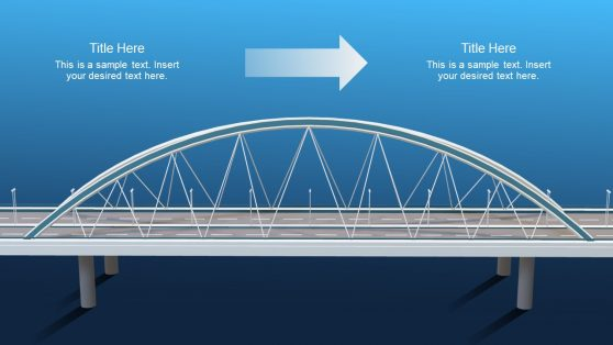 Animated Bridge 3D PowerPoint