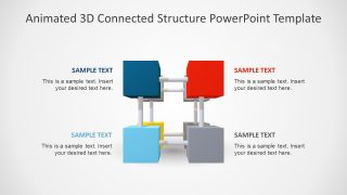 PowerPoint Cube Diagram Design
