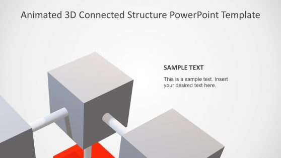Animated 3D Cube Presentation Layout