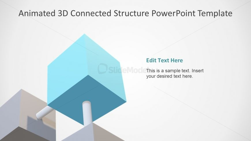 3D Cube Animated Structure