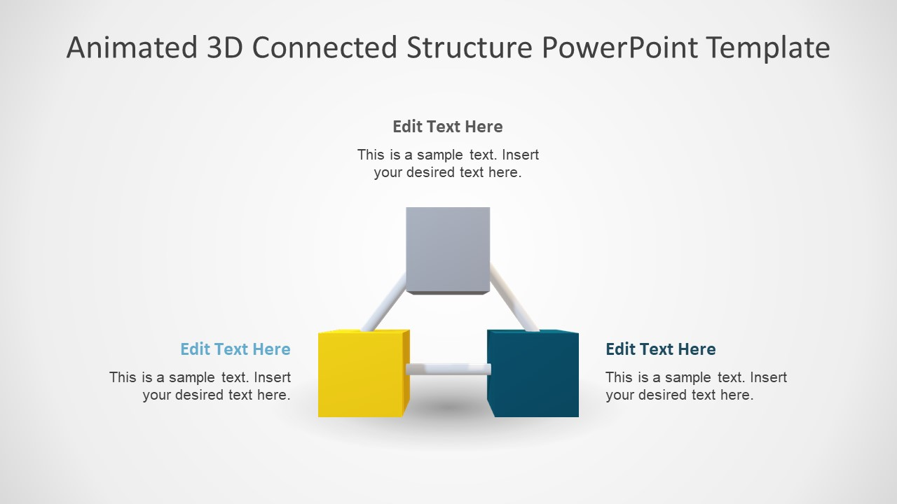 Triangular PPT 3D Template