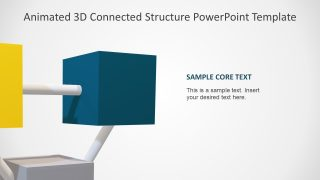 Presentation Layout of 3D Cube