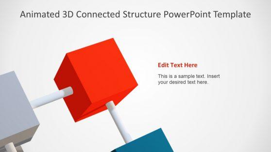 6 Segment 3D Cube Template