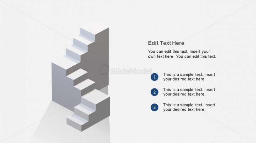 Design for 3D Steps Stair