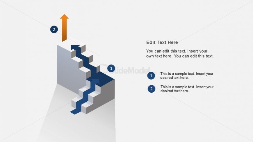 Diagram of Stairway 3D Concept