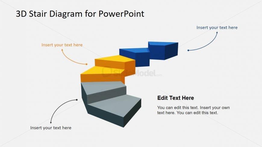 6 Steps Stair Diagram