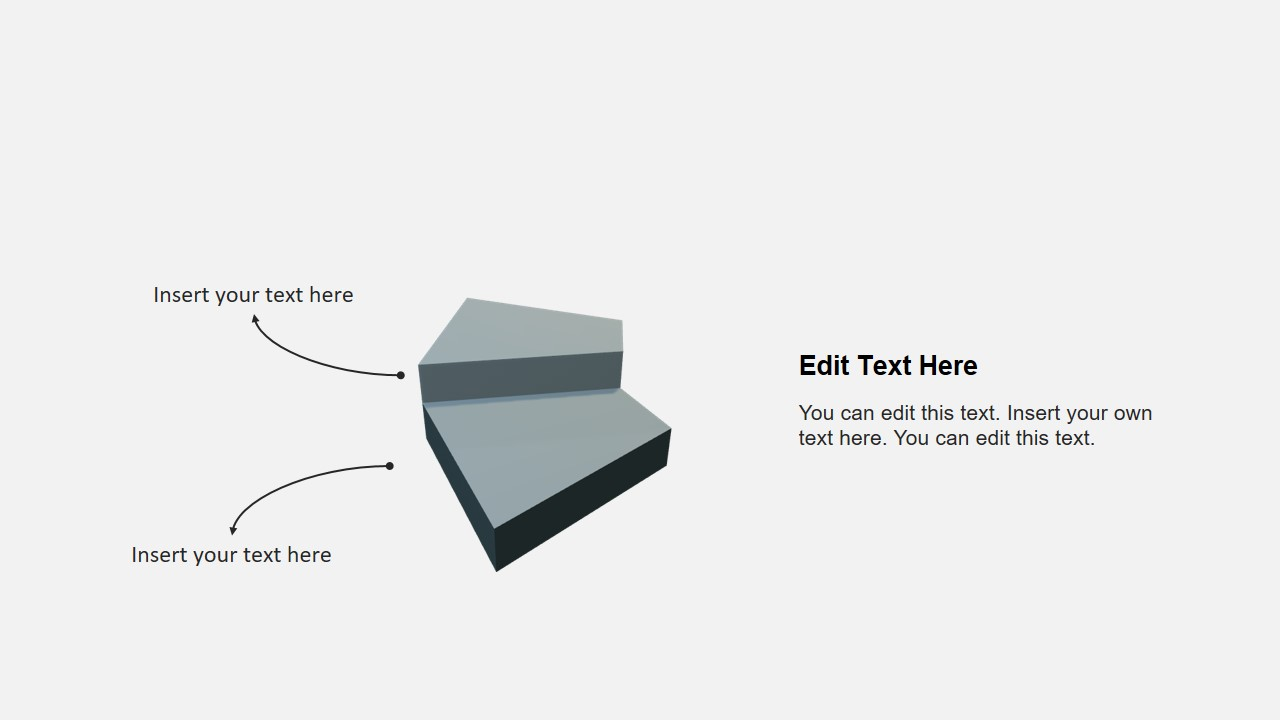 3D Template of Stairs