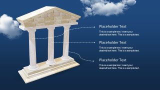 PowerPoint Animated 3D Pillars