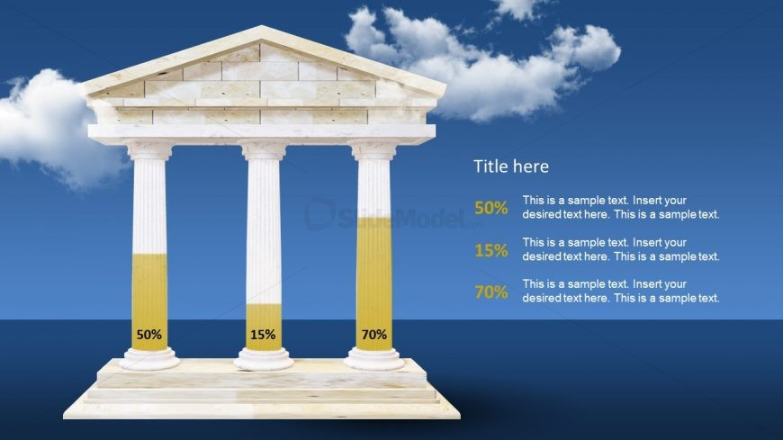 Bar Chart Presentation Style Pillars